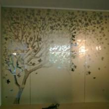 Plėvelės dekoras ant stiklo