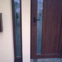Dekoruotas durų stiklas