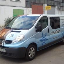automobilio kėbulo apklijavimas reklamine plėvele