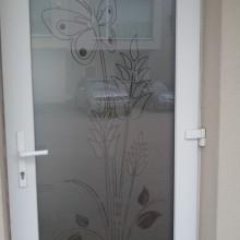 Dekoratyvinė plėvelė ant durų