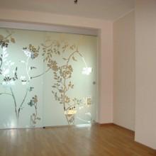 Dekoratyvinė plėvelė stiklui