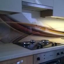 Dekoratyvinė sienelė virtuvėje