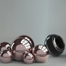 347. Stikline sienele virtuveje